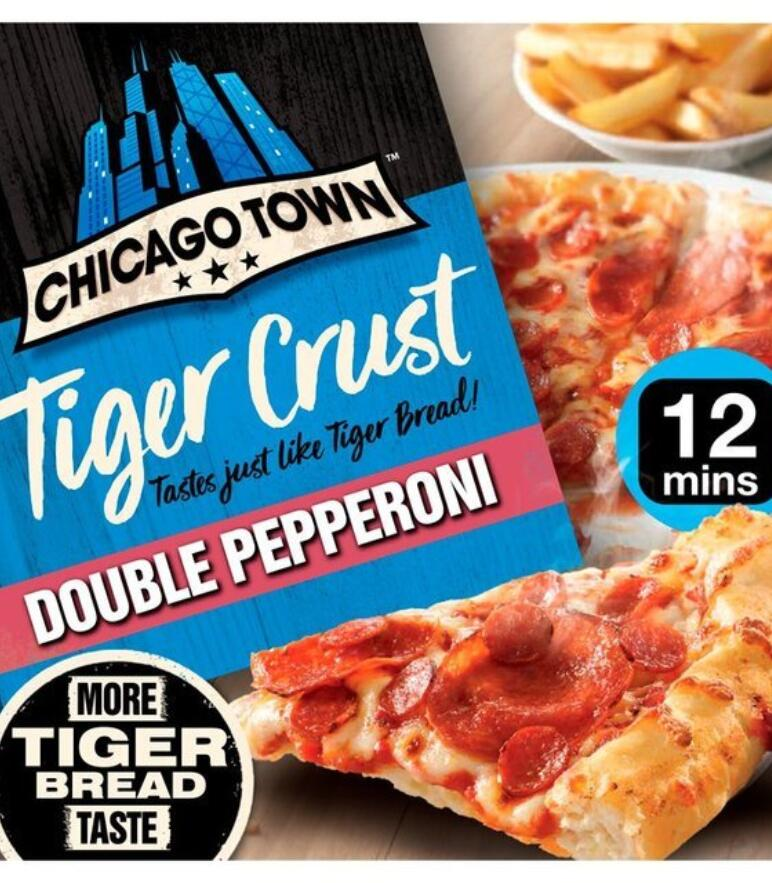 Chicago town tiger crust pizza